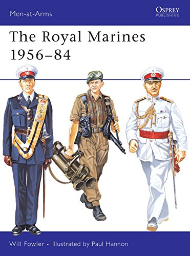 The Royal Marines 1956-84 (Men-at-Arms)