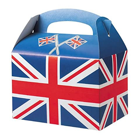 Union Jack Party Boxes (Pack of 6)