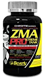 Beverly Nutrition Exclusive Pour ABSat40 ZMA Pro - favoriser une augmentation de la masse musculaire - Augmenter l'énergie et les niveaux d'endurance - Stimule la sécrétion de testostérone -120 Capsules