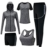 Material: 86% Polyester+14 Spandex Forte élasticité à séchage rapide de tissu; respirable, doux, confortable, sueurs  CatÉgorie de produit: yoga costume;  Suitable for yoga, running, exercise, fitness, sports training, leisure activities  Taille S:Ha...