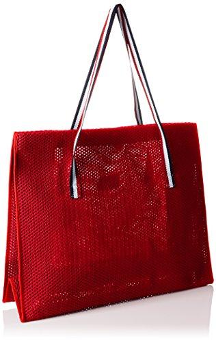 Schultertaschen 10x40x50 Bag Damen Beach Cala Rot Rot cm RxqtTPw6