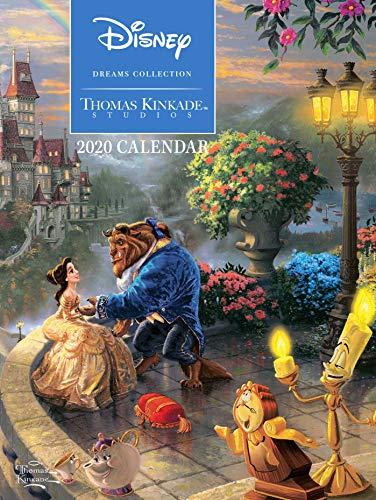 Thomas Kinkade: The Disney Dream Collection 2020: Original Andrews McMeel-Tischkalender [Kalendar] (Agenda-Ringbuch)
