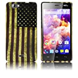 Wiko Highway Signs Silikon-Hülle USA weiche Tasche Cover Case Bumper Etui Flip smartphone handy backcover thematys®