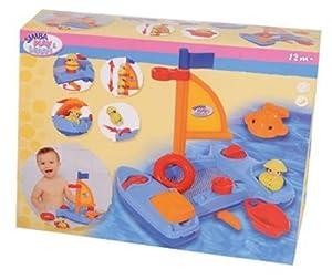 Simba 104011757  - Jugar y Aprender, Jugar y Aprender en catamarán, Incluyendo los Accesorios