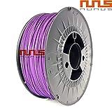 NuNus PLA Filament 1kg (Lila, 1.75mm) *Premium Qualität für 3D Drucker