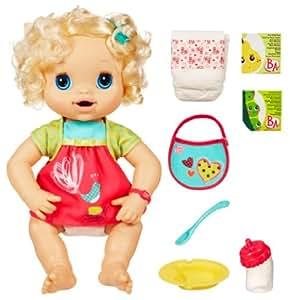 Baby Alive - 247831010 - Poupée et Mini-Poupée - Bébé Parle à Materner et à Chouchouter