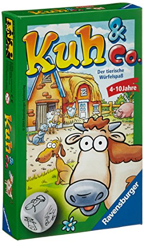 "Ravensburger 23160 7 ""Cow & Co."" Game"