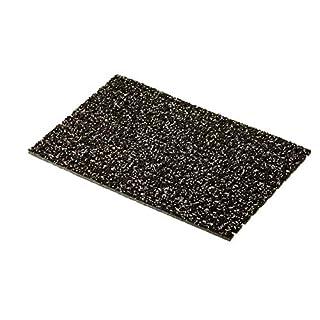 AKO Sicherheitsmatte gegen Glätte - Braun, 1,20m x 3,00m, Rutschfeste Granulat Matte, Sauberlauf, Winter Eingangsmatte Fußmatte, Sicherheitsmatte für Außen