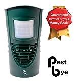 PestBye Advanced Cat Repellent - Ultrasonic Cat Scarer & Deterrent