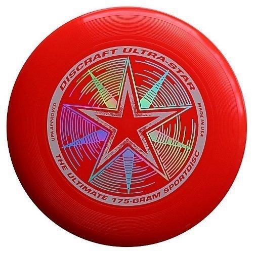 Discraft Ultimate Bundle - 6 Discraft Ultra Star Ultimate Sport Discs by...