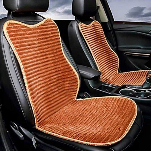 Preisvergleich Produktbild MARK Luxuriöser Airbag Kompatibel Universal Full Set Vorne Hinten Autositzkissenbezug, Schwarz