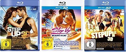 Step Up - 3D Set (Step Up 3 / Miami Heat / All in) - Deutsche Originalware [3 Blu-rays 3D]