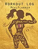Best Diet Books For Women - Workout Log :Meal Planner Book:Diet And Exercise Journal: Review