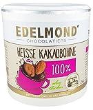 Heisse Kakaobohne von Edelmond für Trinkschokolade ohne Zucker. Fair Trade. Kein Pulver! Konzentrierte dunkelste Schokolade