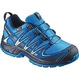 Salomon Kids XA Pro 3D Trail Running Shoes, Deep Peacock Blue, Synthetic/Textile