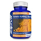 Best Curcumin C3 Complex With Bioperines - Turmeric Curcumin 10,000mg & BioPerine Black Pepper | Review