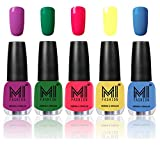 Best Nail Polish Neon Colors - Mi Fashion Color Rich Nail Polish Combo, Bright Review
