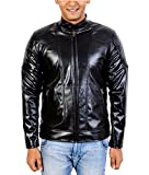 A-One Fashions Men's Faux Leather Jacket...