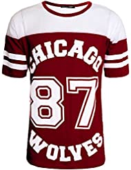 Simply Chic Outlet Grand maillot de baseball XL long des Chicago 87 Wolves pour femme
