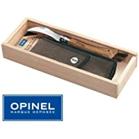 Opinel-Coffret Couteau a champignons OPINEL N° 8 - Manche Chene + Etui