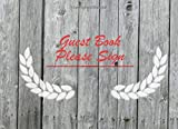 Guest Book Please Sign: Front Porch Swing, Vacation Rental Guest Book, Airbnb, Guest House, Hotel, Bed and Breakfast, Mountain Home (100 Pages)