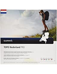 Garmin Topo Nederland Pro Topographische Vektorkarte, Schwarz, Uni