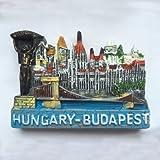 Budapest Ungarn, Französisch Architektur Souvenir Geschenk Home Dekoration 3D Kühlschrankmagnet