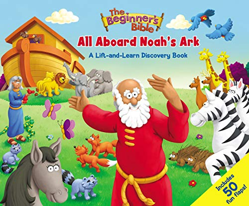 All Aboard Noah's Ark: A Lift-and-Learn Discovery Book (English Edition) ()