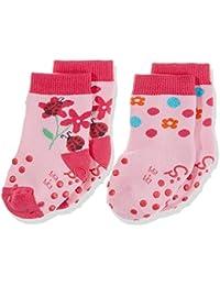 Sterntaler Baby-Mädchen Socken Abs-Krabbelsöckchen Dp Blumen