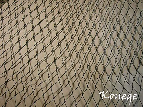 Volierennetz, Vogelschutznetz, Geflügelnetz - 10,0m x Länge wählbar, Mw 5,0cm, geknotet