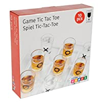 Lifetime-Games-22699-Trinkspiele-Tic-Tac-Toe-10-Stck-transparent