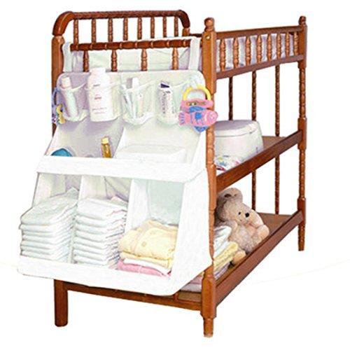 Kinderzimmer Aufbewahrungsstation für Windeln und Wickelzubehör Betttasche