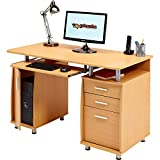 Genuine Piranha Computer Desk with Filing Drawer - Best Reviews Guide