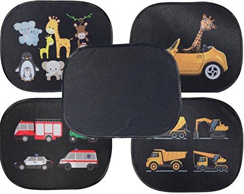 selbsthaftende auto sonnenblende sonnenschutz f r kinder. Black Bedroom Furniture Sets. Home Design Ideas