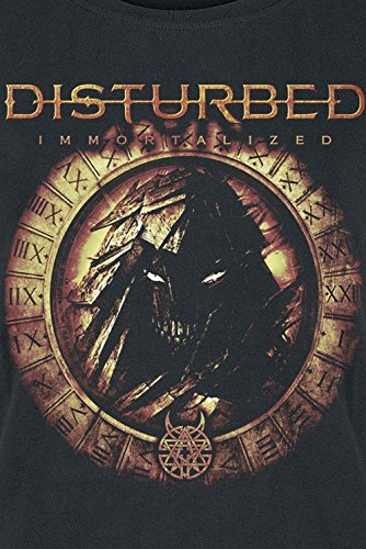 Disturbed Immortalized Girl-Shirt Schwarz Schwarz