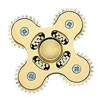 Gear Fidget Hand Tri Spinner, C'est Hand Spinner