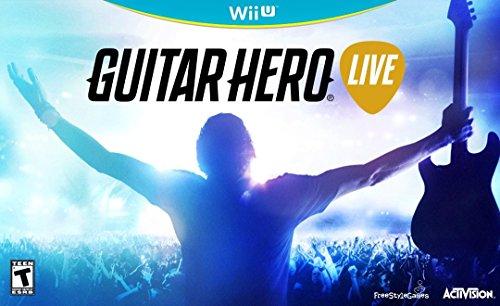 Activision Guitar Hero Live Bundle, Wii U - Juego (Wii U, Nintendo Wii, Música, FreeStyleGames, 10/20/2015, RP (Clasificación pendiente), Guitarra)