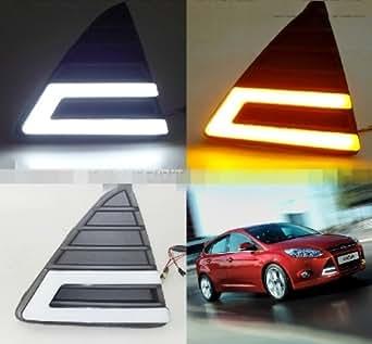 """AupTech Ford Focus """"U"""" Model FEUX DE JOUR LED DRL Voiture Daylight"""