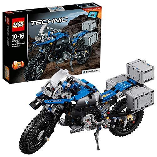 LEGO Technic 42063 - BMW R 1200 GS Adventure, Fortgeschrittenes Bauspielzeug - R-tech-felgen