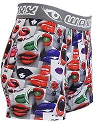 Waxx - Bóxers - para hombre Multicolor Muti-coloured Small