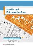 Schrift- und Zeichenschablone Elektrotechnik: mit Tutorial und Formelsammlung mini: Lehrermaterial