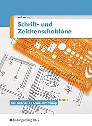 Schriften- und Zeichenschablone Elektrotechnik / Elektronik.