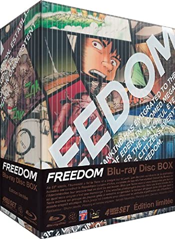 Freedom Blu Ray - Freedom (auteur d'Akira) - Intégrale - Edition