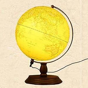 Globo de constelación – 2 en 1 Globo de mundo y mapa de constelación iluminada Juguete de aprendizaje geográfico educativo – 25 cm