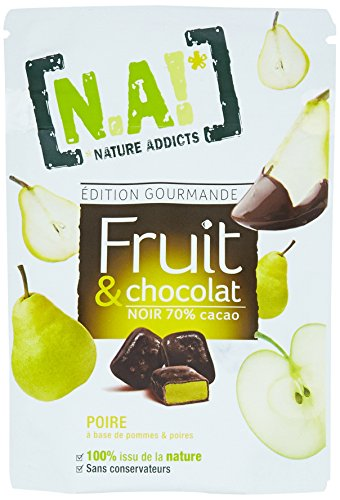 NA! Sachet de Fruit/Chocolat/Poire 35 g