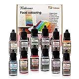 Pinceles para colorear alimentos Flo concentrados para alimentos...