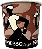 50 Stck. Coffee Grabbers Espresso to go becher 0,1l; 4oz