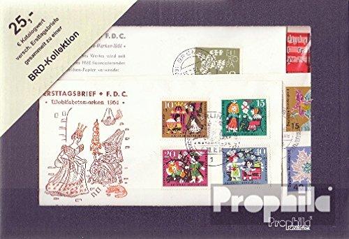 Prophila Collection BRD (BR.Deutschland) Ersttagsbriefe Wertpaket (Briefmarken für Sammler) -