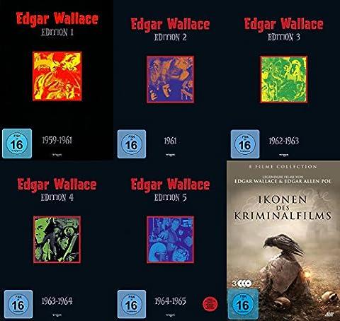 EDGAR WALLACE Edition 1 2 3 4 5 + 8