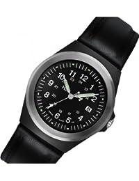 Traser H3 Military P 5900 - Reloj de pulsera con correa de piel